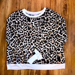 Leopard Long Sleeve Sweatshirt NOBO Juniors